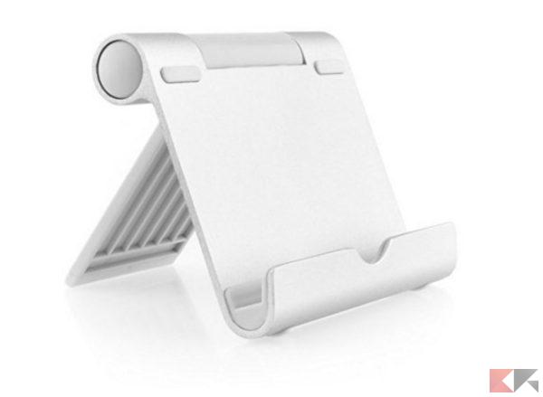 2016 12 12 10 11 48 AUKEY Supporto Stativo in Alluminio   Stand da tavolo per Smartphone Tablet PC