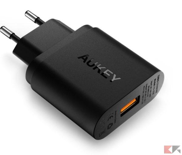2016 12 12 10 13 24 AUKEY Quick Charge 2.0 Caricatore USB a muro 18W per iPhone HTC Nexus adattat
