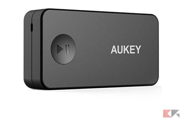 2016 12 12 10 47 58 Aukey® Ricevitore Bluetooth Auto Audio senza fili Bluetooth 3.0 Receiver Wirele