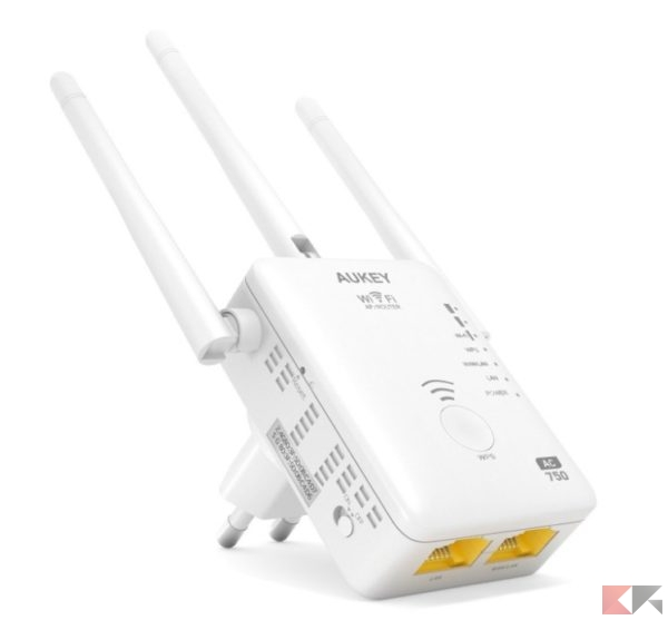 2016 12 12 11 44 10 AUKEY Ripetitore Wi Fi Dual Band 750Mbps 802.11ac 3 Antenne Esterne Range Extend