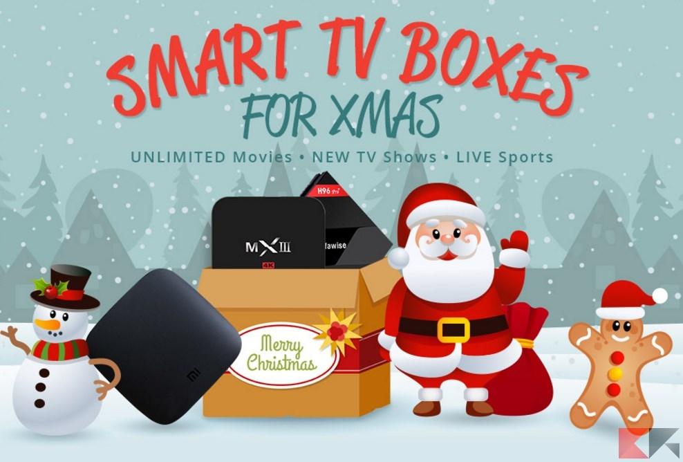 tv box per natale offerte gearbest