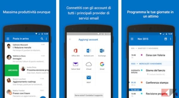 2016 12 16 10 30 40 Microsoft Outlook App Android su Google Play
