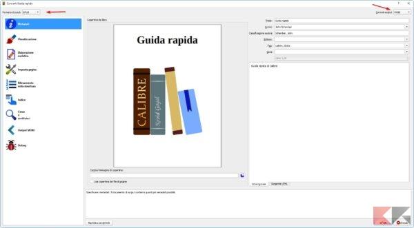Conversione ebook