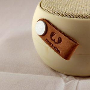 Speaker Bluetooth Rockbox Round Fabric Edition