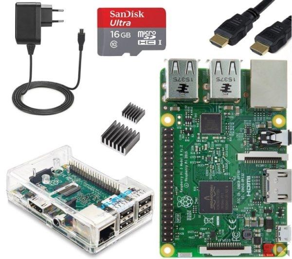 Raspberry Pi 3 Complete Starter Kit