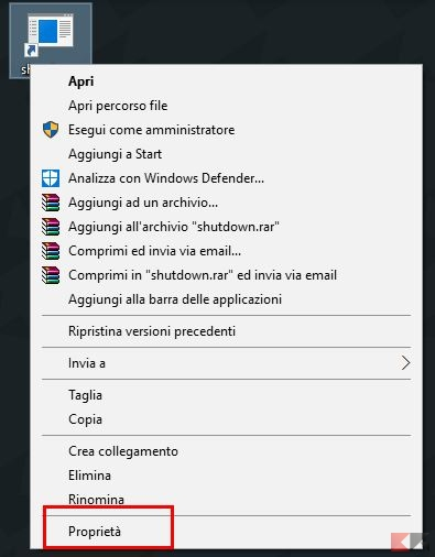 Come spegnere il PC con la tastiera in Windows
