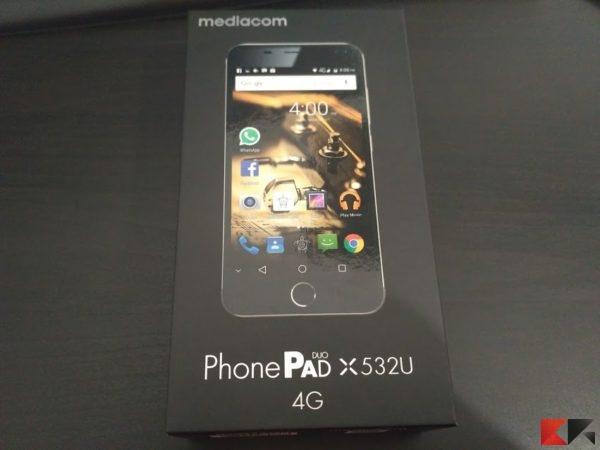 Mediacom phonepad x532u: poche pretese ma buone