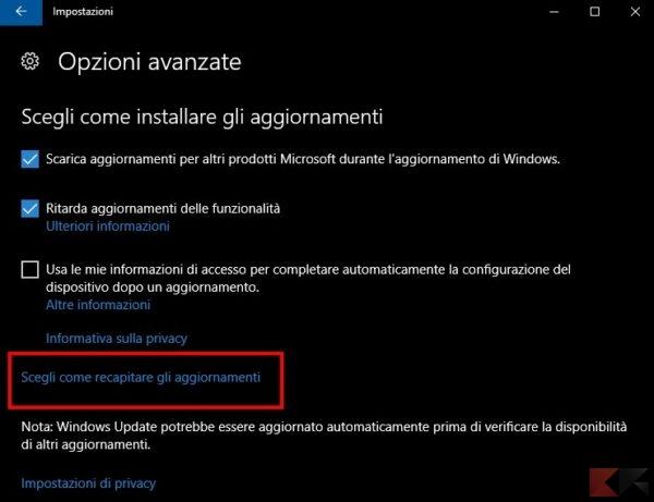 Connessione lenta in Windows 10