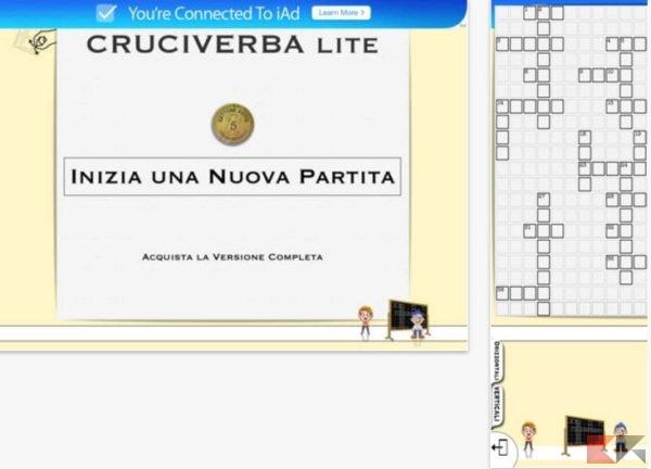 2017 01 04 11 53 32 Cruciverba Infiniti Lite sullApp Store