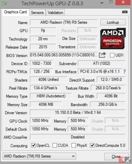 GPU Z AMD