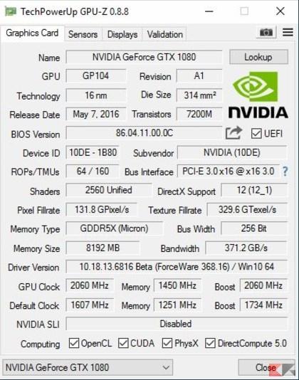 GPU Z NVIDIA
