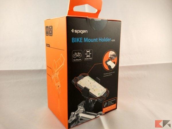 Supporto smartphone per bici Spigen bicicletta bike