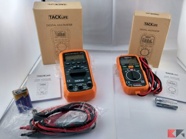 Multimetro Digitale tester Tacklife