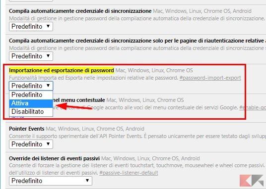 chrome password 1