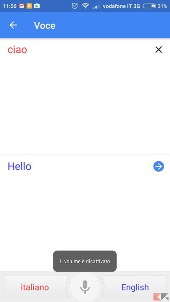Come usare Google Traduttore