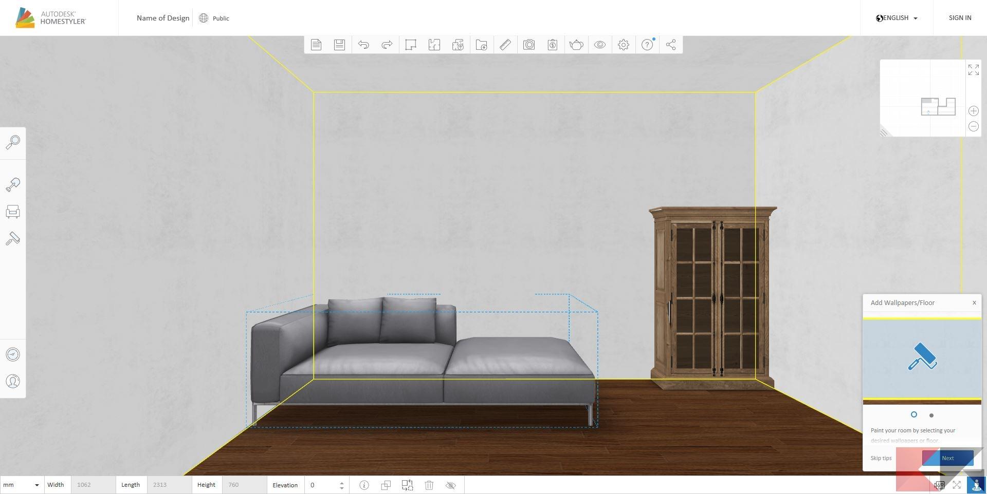 Progettare interni casa online gratis spaccato with for Progettare mobili
