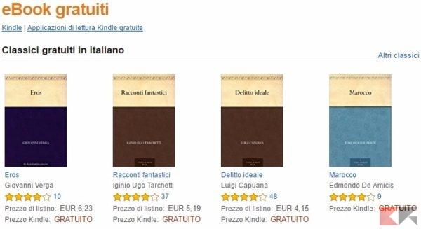 libri gratis amazon