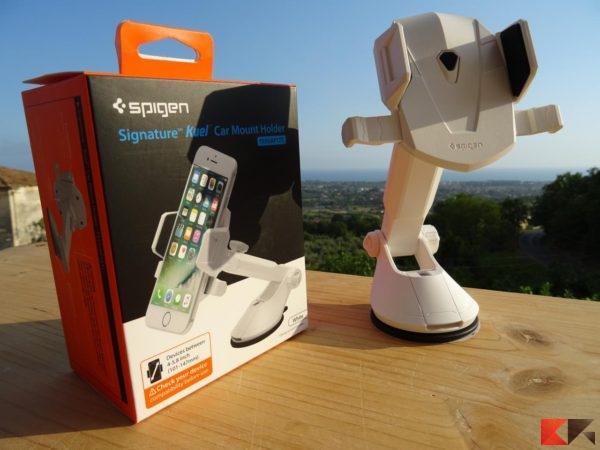 Supporto auto per smartphone universale Spigen AP12T Kuel