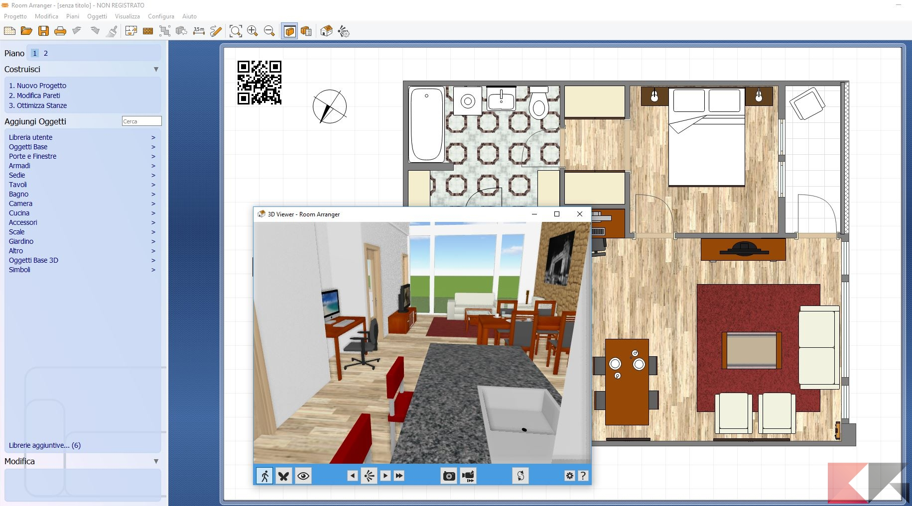 Programma arredare casa gratis for Programma per disegnare cucine gratis