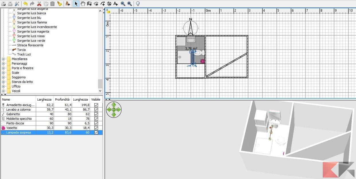 Disegnare cucina 3d gratis free progettare casa da soli for Programma per progettare cucine gratis