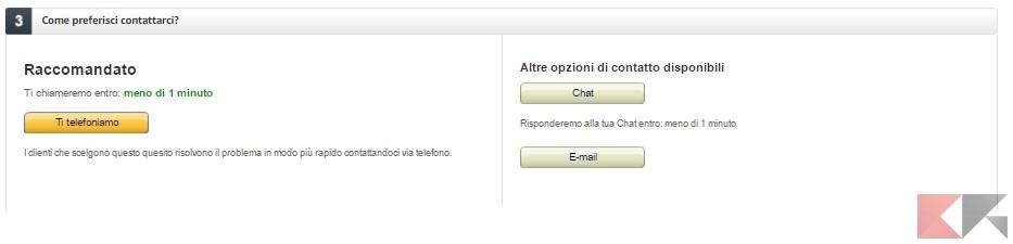 Amazon-contatti