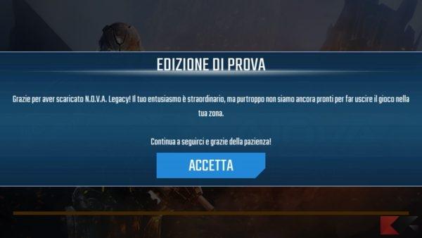 Nova legacy 2