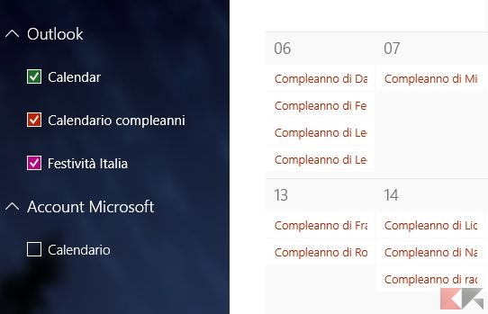 compleanni windows 10