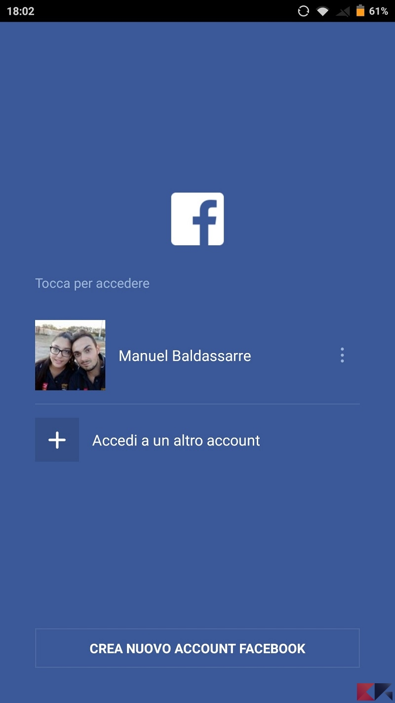 app facebook login