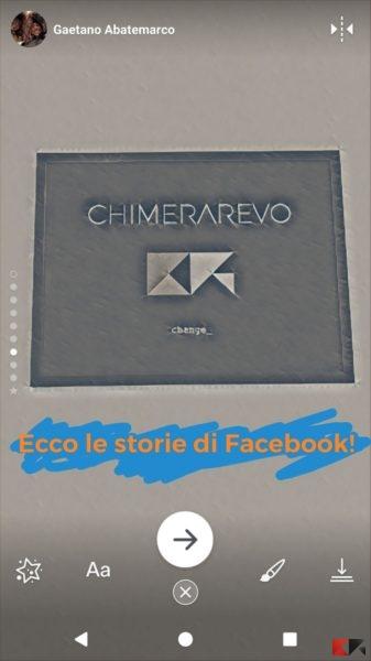 foto e video diretti Facebook