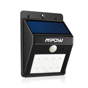 mpow luce wireless a pannelli solari