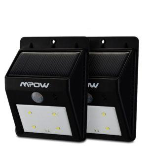 mpow luci wireless a pannelli solari