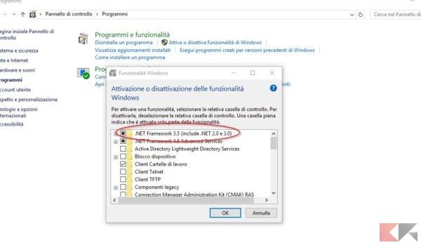 net framework 3.5 windows