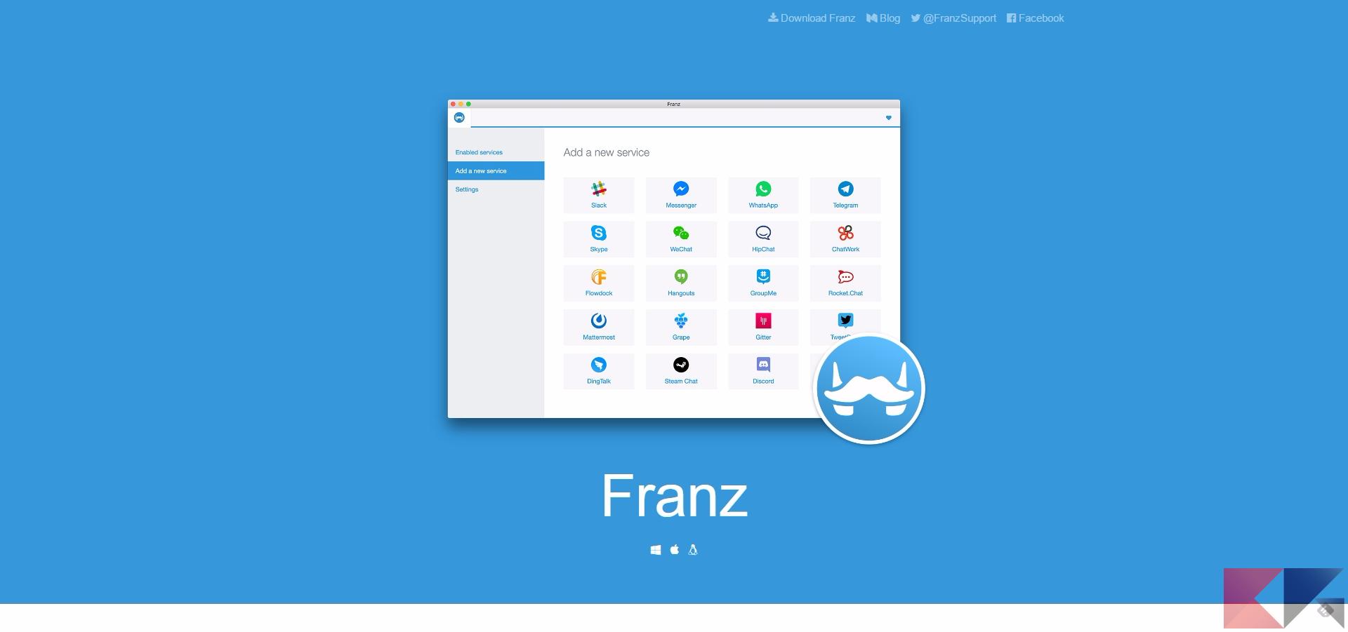 app messaggistica franz