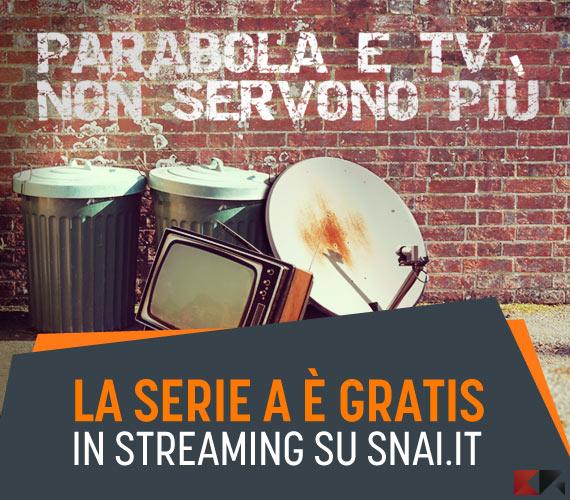 streaming serie a snai