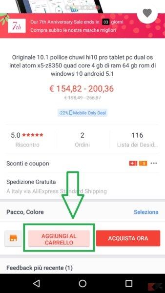 Aliexpress - coupon