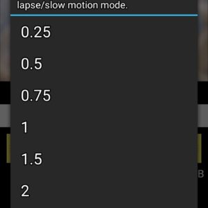 android slow motion
