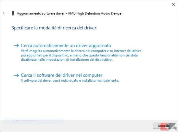 AggiornamentoSoftwareDriver