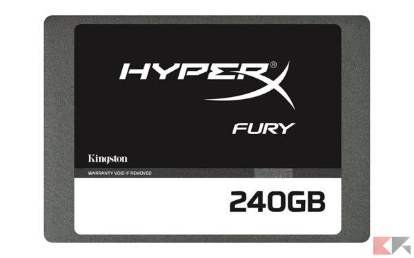 HyperX Fury SHFS37A/240G SSD