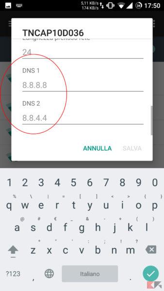 Impostare IP Statico Android 6