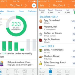 Le migliori app per dimagrire - Lose It!