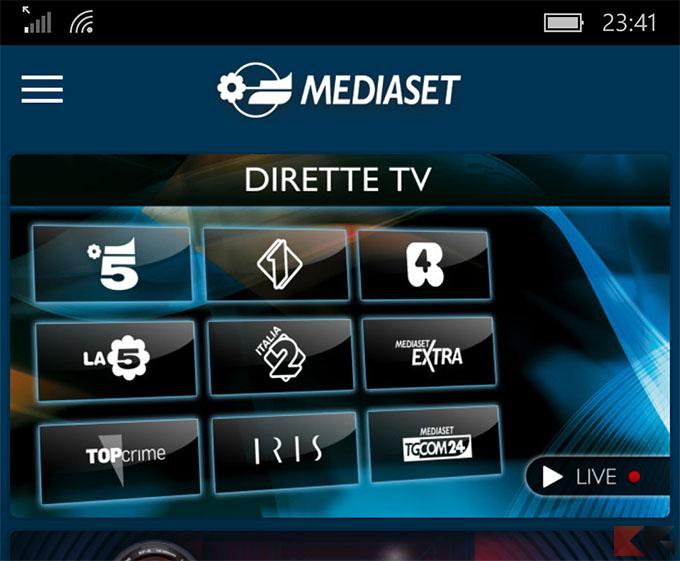 Vedere film in streaming su android chimerarevo for App per vedere telecamere su android
