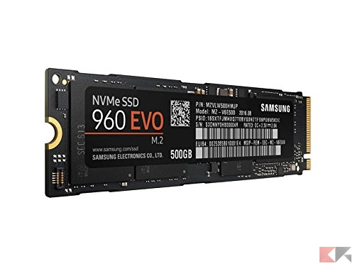 Samsung MZ-V6E500BW SSD 960 EVO