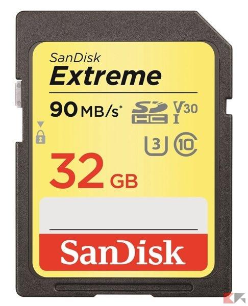 SanDisk Extreme SDHC 32 GB