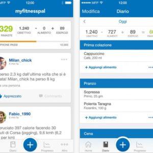 Le migliori app per dimagrire - MyFitnessPal