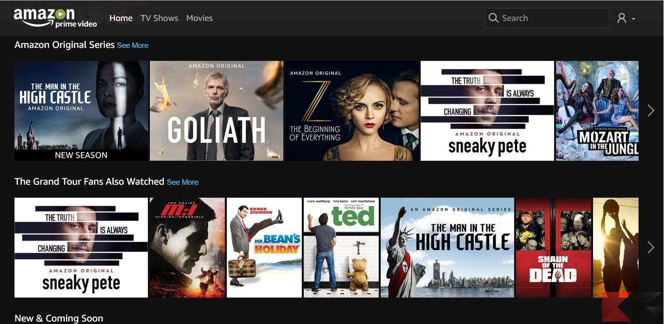 come scaricare film gratis Amazon Video