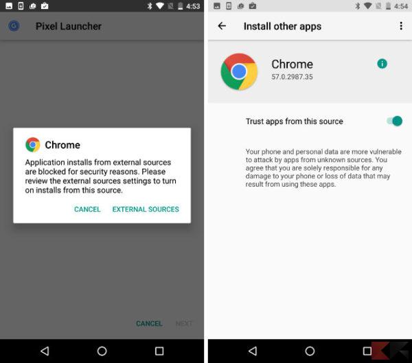 Android O - Origini Sconosciute