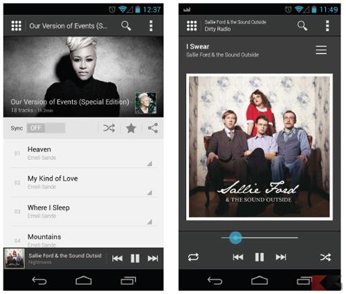 image deezer annonce la sortie en beta d une nouvelle version de son application mobile android 2013 2 11291 francemobiles