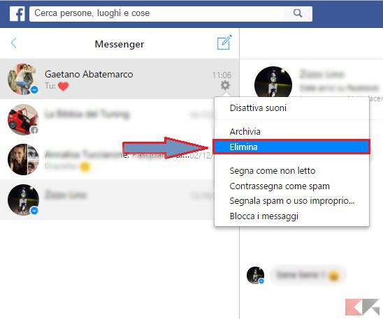messenger-elimina-chat