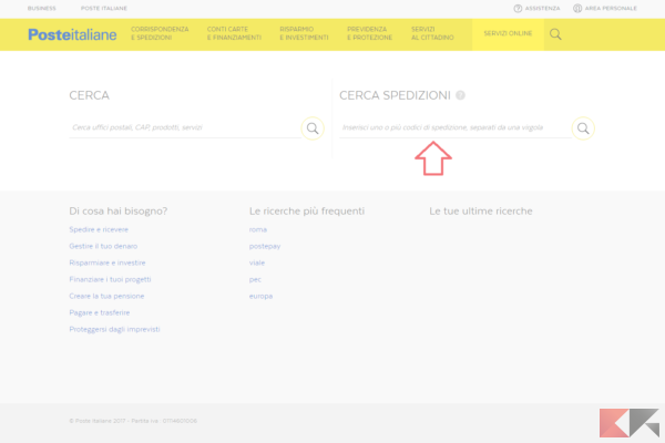 screencapture poste it cerca index html 1489672991538