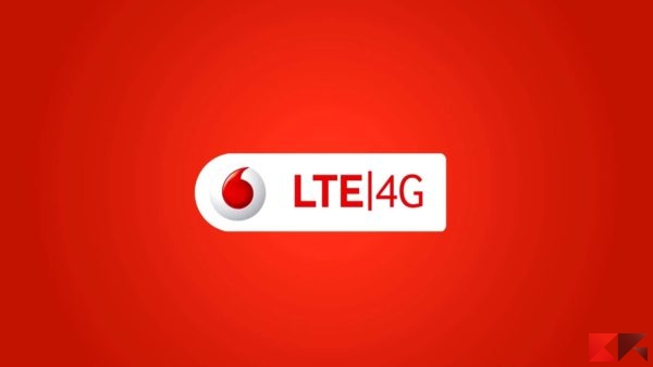 Copertura 4G Vodafone